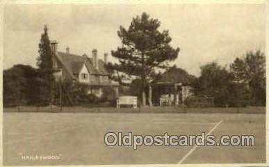 spo024608 - Haileywood Tennis, Old Vintage Antique, Post Card Postcard