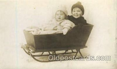 spo025133 - Children in Sleigh
