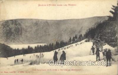 Saison Dhiver Dans Les Vosges