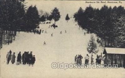 montrose Ski Bowl, MOntrose, Pa, USA
