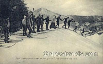 Les Sports dhiver en Dauphine - Les joies du ski E.R.