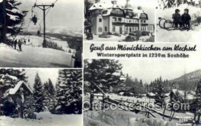 Wintersportplatz in 1230M Seehohe