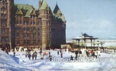 Chateau Frontenac Hotel, Quebec Canada