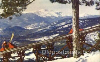 spo025265 - Mt. Cranmore Skimobile, North Conway, NH USA Ski Sking Postcard Post Cards