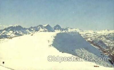 spo025275 - Mammoth Lakes, California, USA Ski Sking Postcard Post Cards