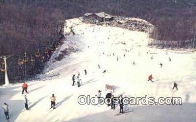 spo025449 - Gatlinburg Ski Resort, Gatlinburg, TN USA Ski, Skiing Postcard Post Card Old Vintage Antique
