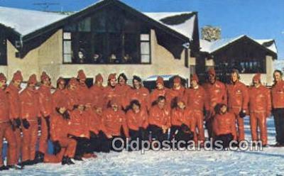 spo025457 - Little Switzerland , Slinger, WI USA Ski, Skiing Postcard Post Card Old Vintage Antique