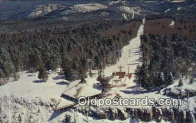 spo025469 - Sandia Peak Ski Area, Albuquerque, NM USA Ski, Skiing Postcard Post Card Old Vintage Antique