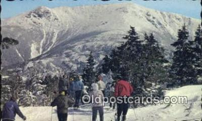 spo025473 - Ski, Skiing Postcard Post Card Old Vintage Antique