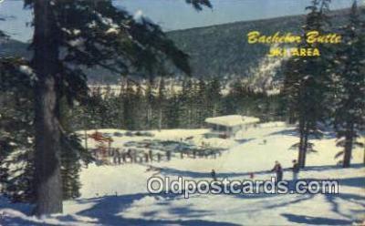 spo025493 - Beachler Butte, Bend, OR USA Ski, Skiing Postcard Post Card Old Vintage Antique