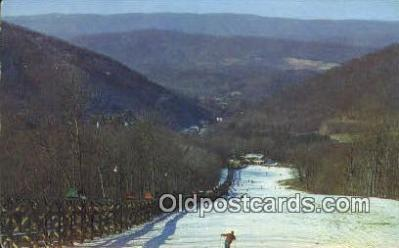 spo025509 - The Homestead, Hot Springs, VA USA Ski, Skiing Postcard Post Card Old Vintage Antique