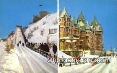 Plaisirs D Hiver, Quebec, Canada