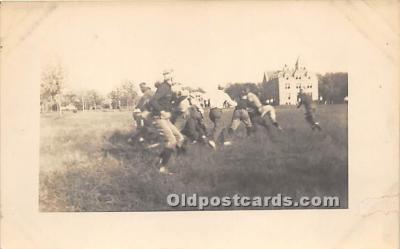 spo027125 - Old Vintage Football Postcard Post Card