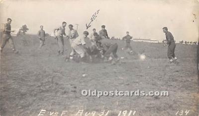 spo027134 - Old Vintage Football Postcard Post Card
