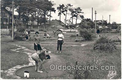 spo028003 - Vieux Boucau, Miniature Golf Sports Postcard Postcards