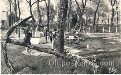 spo028007 - Ile D'oleron, Miniature Golf Sports Postcard Postcards