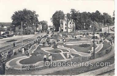 spo028009 - Station Thermale De Bagnoles, Miniature Golf Sports Postcard Postcards