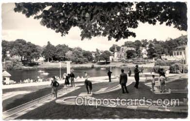 spo028010 - De Bagnoles, Miniature Golf Sports Postcard Postcards