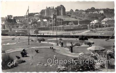 spo028017 - Dieppe, Miniature Golf Sports Postcard Postcards