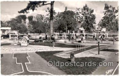 spo028020 - Villers-Sur-mer, Miniature Golf Sports Postcard Postcards