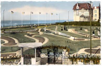 spo028025 - Cabourg, Miniature Golf Sports Postcard Postcards