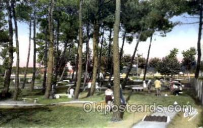 spo028040 - Miniature Golf, Postcard Postcards