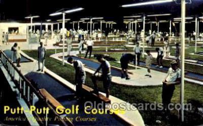 spo028057 - Portland, Oregon, USA, Miniature Golf, Postcard Postcards