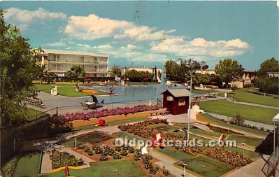 spo028059 - Old Vintage Miniature Golf Postcard Post Card