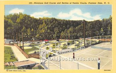 spo028064 - Old Vintage Miniature Golf Postcard Post Card
