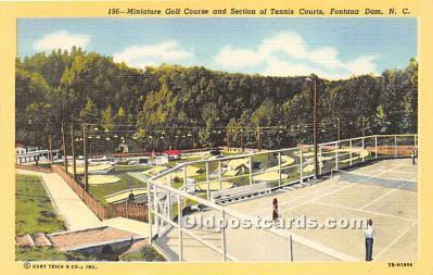 spo028064 - Old Vintage Miniature Golf Postcard Post Card