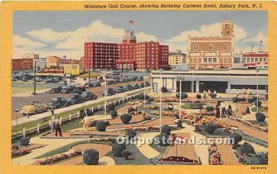 spo028065 - Old Vintage Miniature Golf Postcard Post Card