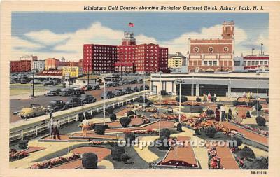 spo028068 - Old Vintage Miniature Golf Postcard Post Card