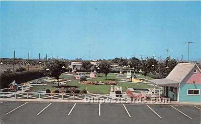 spo028074 - Old Vintage Miniature Golf Postcard Post Card