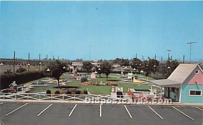 spo028074 - Old Vintage Miniature Golf Postcard Post Card