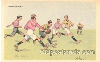 spo030015 - Soccer, Football, Postcard Postcards