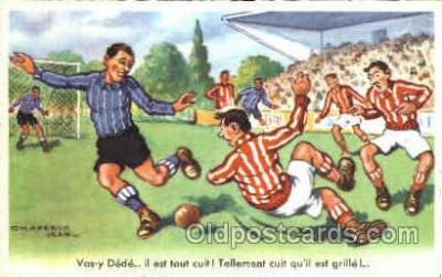 spo030111 - Chaperon Jean Soccer Postcard Post Card Old Vintage Antique