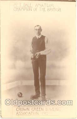 spo032020 - Mr. T. Dale Amateur Champion of the British, Lawn Bowling