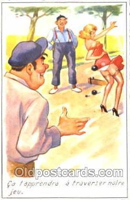 spo032143 - Lawn Bowling Postcard Postcards