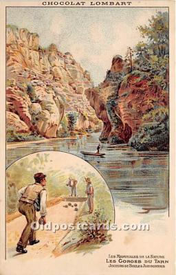 spo032311 - Old Vintage Lawn Bowling Postcard Post Card
