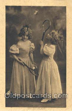 spo035001 - Badminton, Postcard Postcards