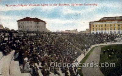 Colgate Stadium, Syracuse Univ. NY, USA