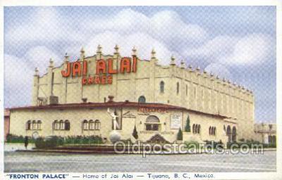 Jai Alai Tijuana BC Mexico