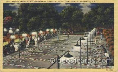 Shuffleboard Courts in Mirror Lake Park