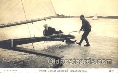 spo042003 - Ice Boating, Postcard Postcards