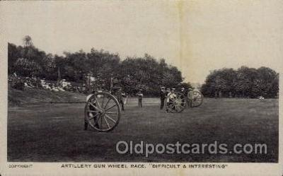 Artillery Gun Wheel Race