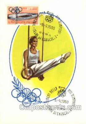spo044007 - Olympic XVII Rome Itally, 1960 Postcard Postcards