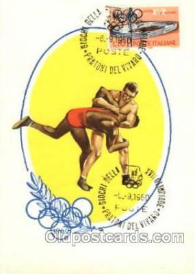spo044011 - Olympic XVII Rome Itally, 1960 Postcard Postcards