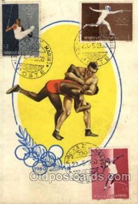 spo044014 - Olympic XVII Rome Itally, 1960 Postcard Postcards