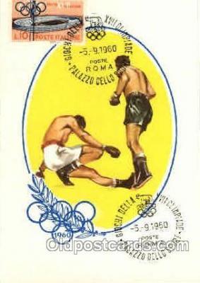 spo044017 - Olympic XVII Rome Itally, 1960 Postcard Postcards