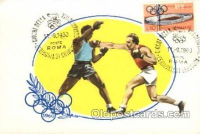 spo044025 - Olympic XVII Rome Itally, 1960 Postcard Postcards